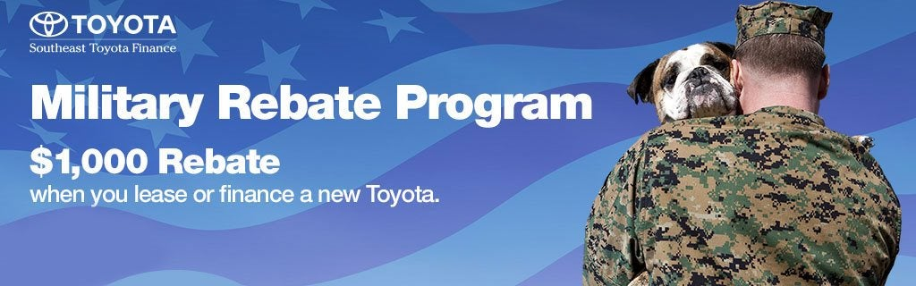 Toyota Military Program | Kennesaw GA | Serving Marietta, Acworth And The  Greater Atlanta Area